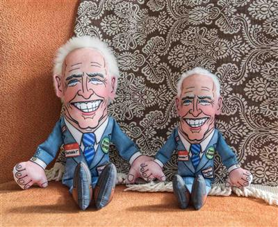 "Joe Small Dog Toy - 12"" Presidential Parody"