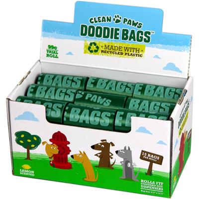 Clean Paws Doodie Bags Point of Purchase Display