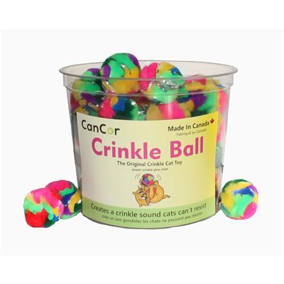 Original Crinkle Ball Cat Toy