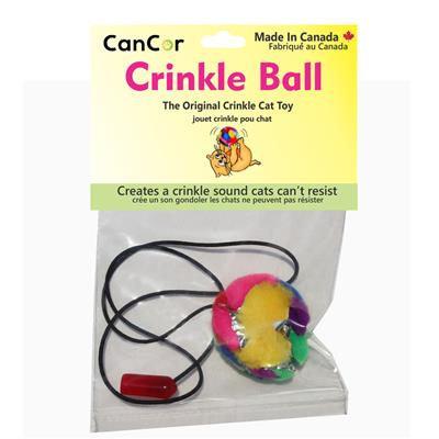 Crinkle Ball Tantalizer Cat Toy
