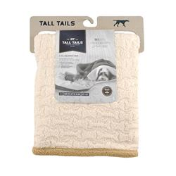 Tall Tails' 3-in-1 Cream Burrow Bed