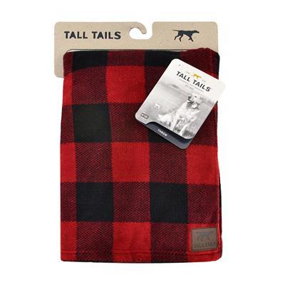 Tall Tails Hunter's Plaid Dog Blanket