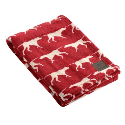 Tall Tails Red Icon Dog Blanket