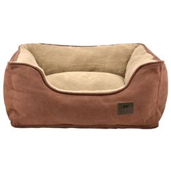 Tall Tails Brown Bolster Bed