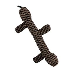 Tall Tails Brown Braided Stick Toy, 9""