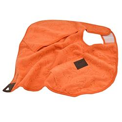 Tall Tails Orange Cape Towel
