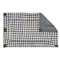 Reversible Houndstooth Fleece Classic Bed