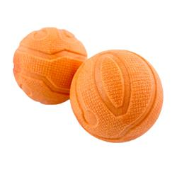 """Tall Tails Orange Fetch Balls, 2-Pack, 2.5"""""""