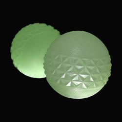 Tall Tails Glow-in-the-Dark Fetch Balls, 2-Pack, 2.5""