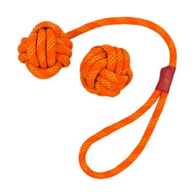 Tall Tails Orange Floating Rope and Tug Toy - 2pc Bundle