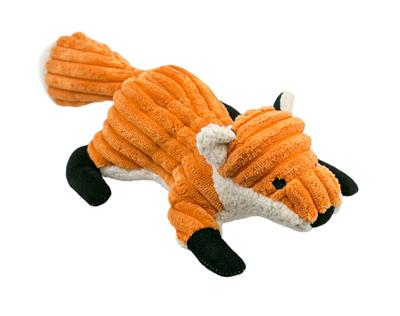 """Tall Tails Fox With Squeaker, 12"""""""