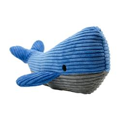Tall Tails Whale With Squeaker, 12""