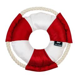 Tall Tails Lifebuoy With Squeaker, 8""