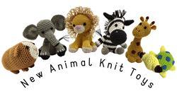 New Animal Knit Knack Pet Toys