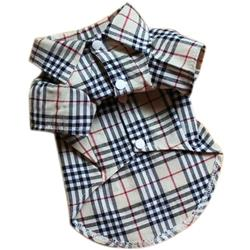 Furberry Checker Button Up