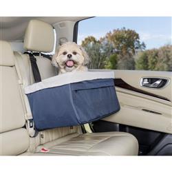 Pet Booster Seat - up to 12lbs  | Pet Car Seat | Dog Car Seat |  PetSafe® Happy Ride™ Booster Seat, Navy