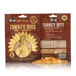 GoGo® USA 1oz Turkey Tendon Bites - Cat Treats