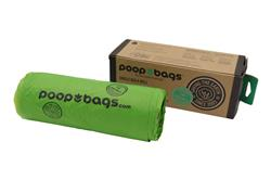 Biobased Single Bulk Roll of 300 Poop Bags (12 Units Per Case)