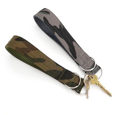 Camo Key Chain Wristlet Fob