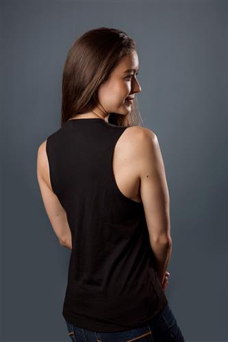 Muscle Tank, Women's, Black