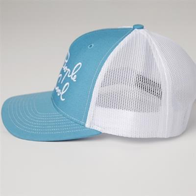 Trucker Hat, Blue/White
