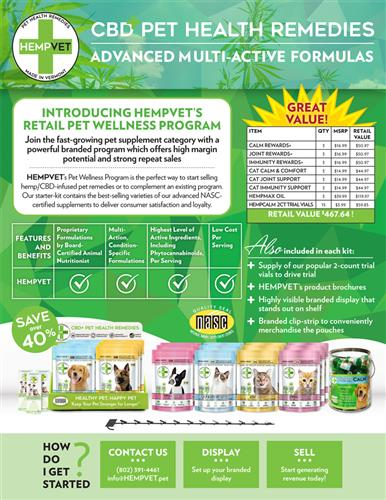 HEMPVET Pet Wellness Program