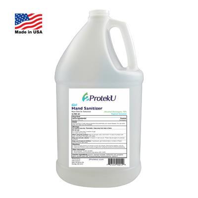 2ProtekU Gel Hand Sanitizer Gallon