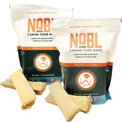 Freeze Dried Canine Food Bars by NOBL