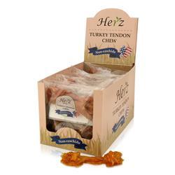 Herz 15g USA Turkey Tendon Bone, Small - Display Box (40)