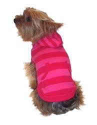 Kangaroo Striped Sweater in Pink