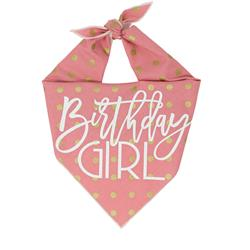 Birthday Girl Dog Birthday |  Birthday Dog Bandana | Happy Birthday Bandana |
