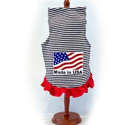 Made in USA Stripe Dress by Daisy and Lucy