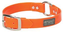 X-Treme Adventure Clear Coat Dog Collar or Leash - Blaze Orange
