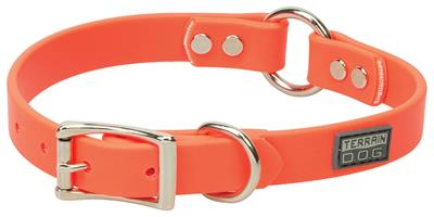 Brahma Webb® Center-Ring Dog Collar or Leash - Blaze Orange