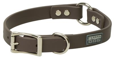 Brahma Webb® Center-Ring Dog Collar or Leash - Brown
