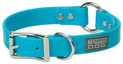 Brahma Webb® Center-Ring Dog Collar or Leash - Hurricane Blue