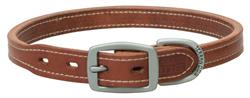 Russet Leather Hybrid Dog Collar/Leash