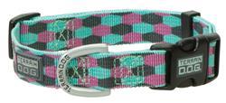 Patterned Snap-N-Go Adjustable Dog Collar
