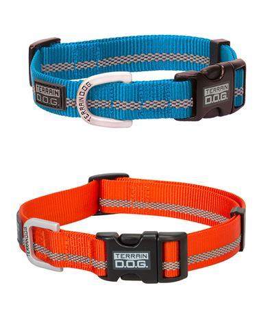Reflective Snap-N-Go Adjustable Nylon Dog Collar