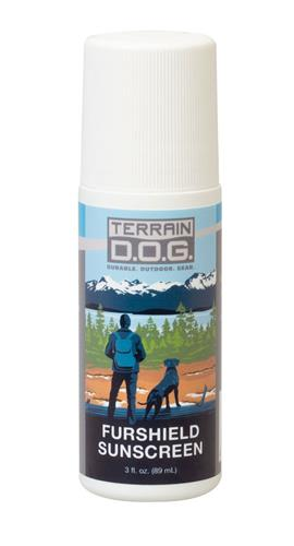 Furshield Sunscreen, 3 oz.  Spray Bottle