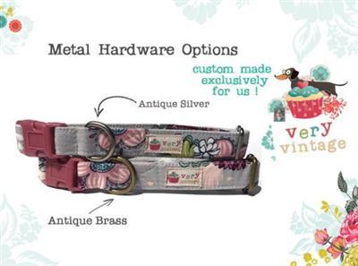Apricot Blossom – Organic Cotton Collars & Leashes