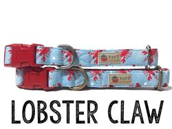 Lobster Claw – Organic Cotton Collars & Leashes