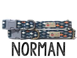 Norman – Organic Cotton Collars & Leashes
