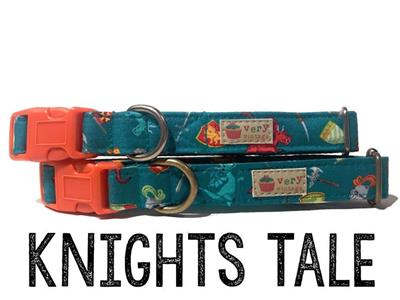 Knights Tale – Organic Cotton Collars & Leashes