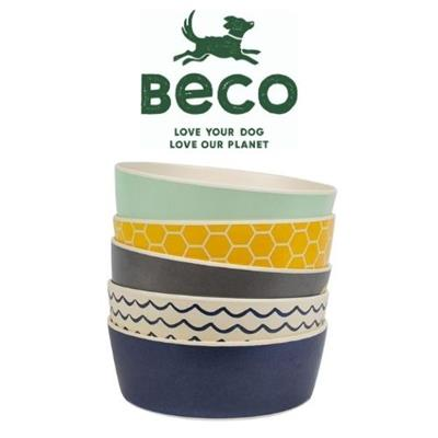 Beco Classic Bamboo Bowl, NEW PRINTED STYLE