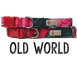 Old World – Organic Cotton Collars & Leashes