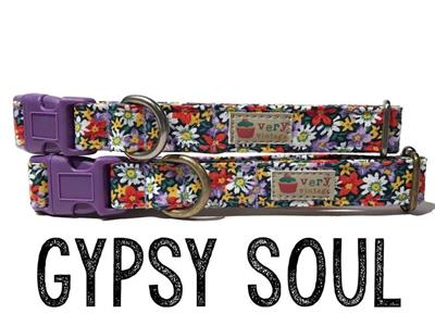 Gypsy Soul – Organic Cotton Collars & Leashes