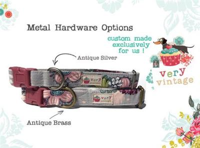 Snow Flurries – Organic Cotton Collars & Leashes