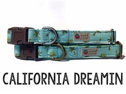 California Dreamin – Organic Cotton Collars & Leashes