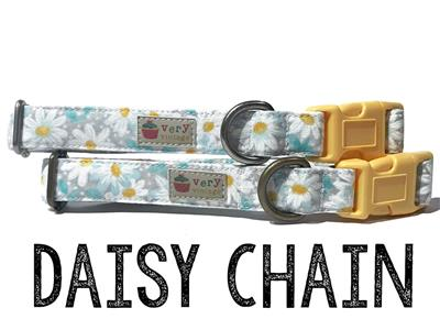 Daisy Chain – Organic Cotton Collars & Leashes